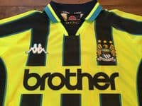 Classic Football Shirts | 1998 Manchester City Vintage Old Soccer Jerseys